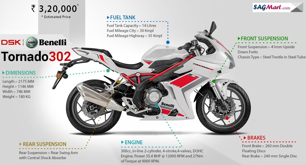 Dsk Bikes Price List In India