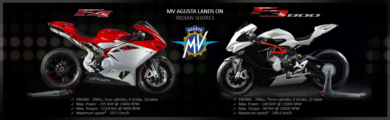MV Agusta Lands on Indian Shores