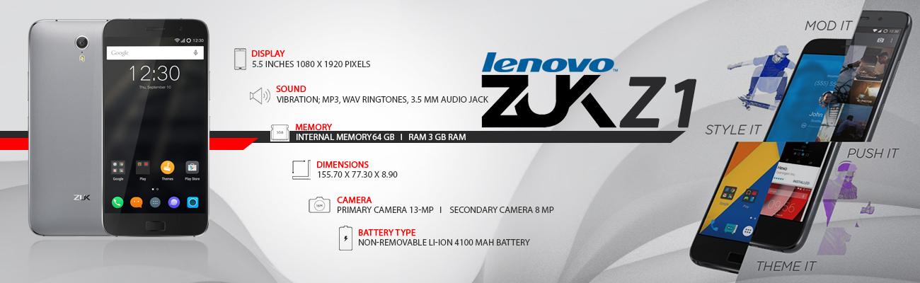 Lenovo Zuk Z1 Specification