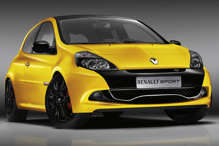 renault unveils f1 inspired clio rs hatchback. Black Bedroom Furniture Sets. Home Design Ideas