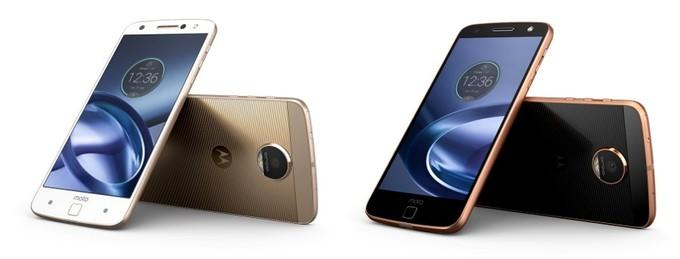 Lenovo-Owned Motorola Launched Modular Smartphones Moto Z ...