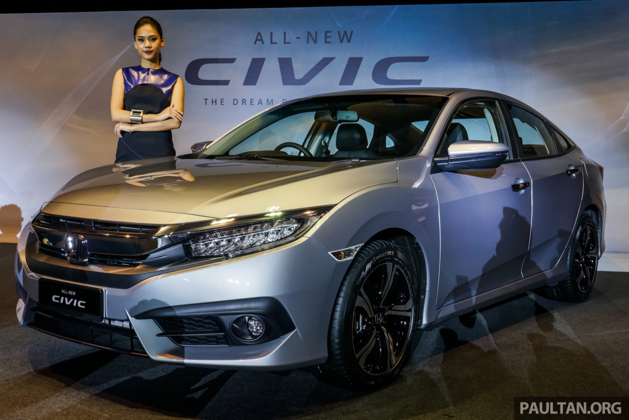 2016 honda civic launched in malaysia india launch soon. Black Bedroom Furniture Sets. Home Design Ideas