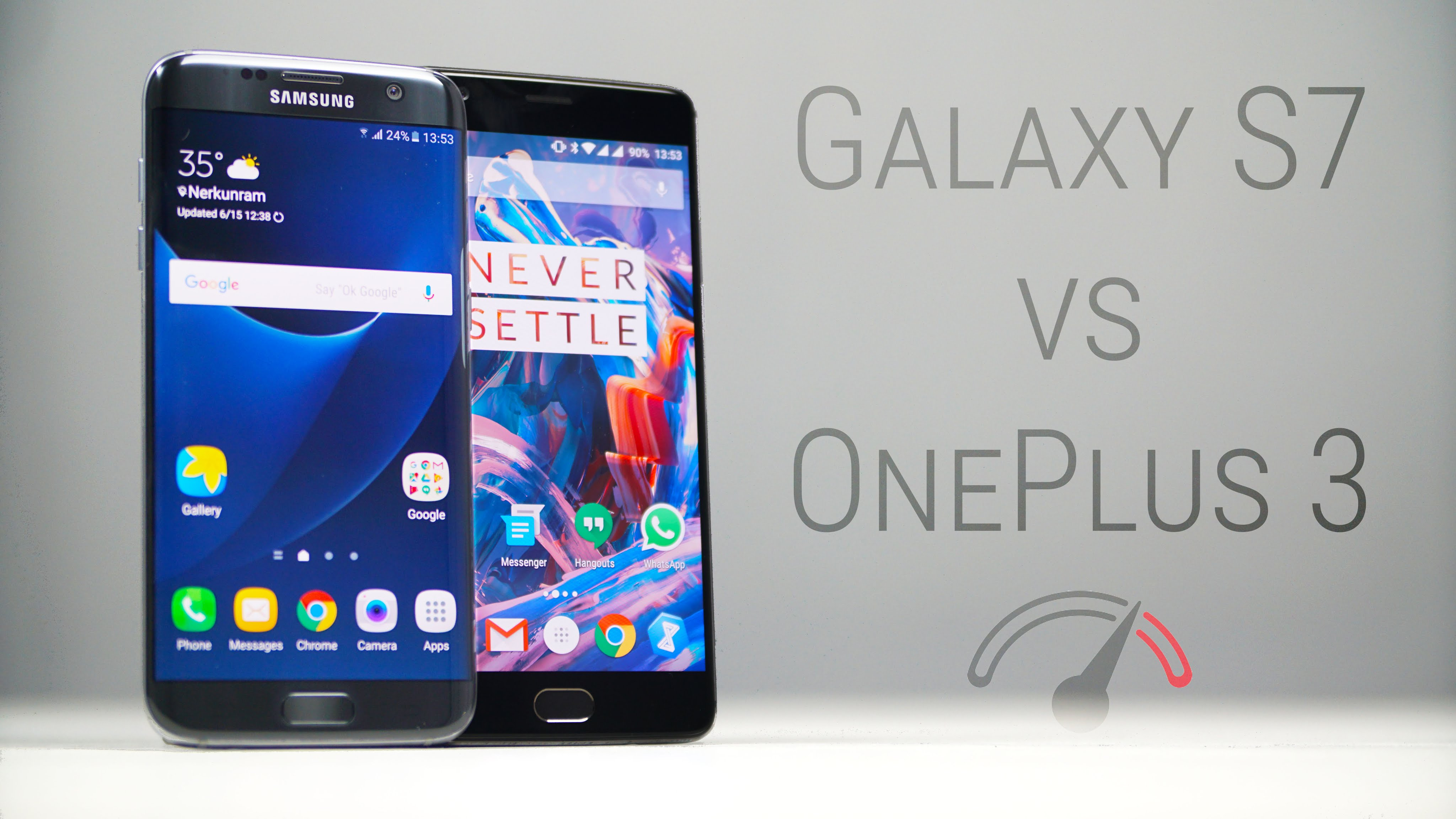 oneplus 3 vs samsung galaxy s7 edge a speed test. Black Bedroom Furniture Sets. Home Design Ideas