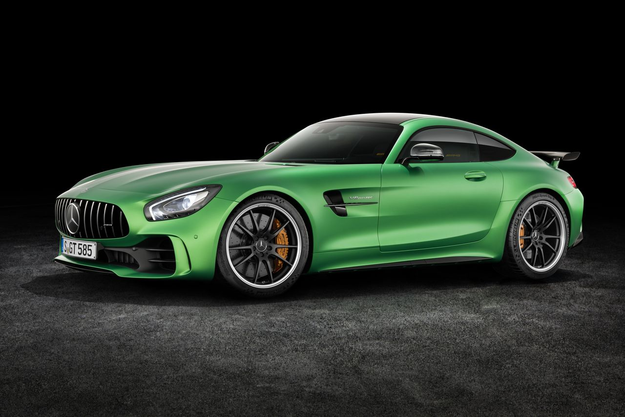 mercedes benz released the amg gt r at goodwood festival