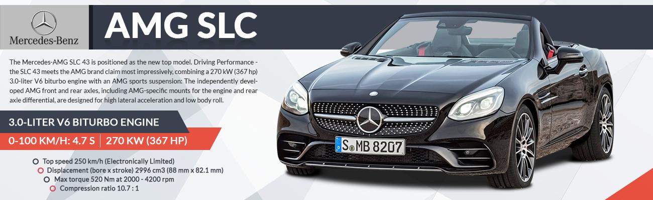 Mercedes Benz SMG SLC