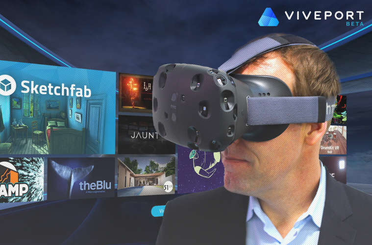 7a54fa157c4b HTC Unveiled Exclusive VR App Store  Viveport