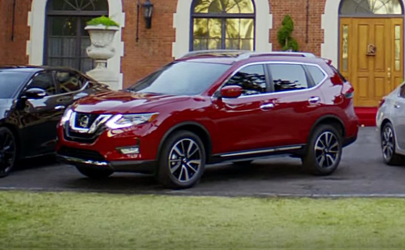 2017 nissan x trail facelift rendered via american tv commercial. Black Bedroom Furniture Sets. Home Design Ideas