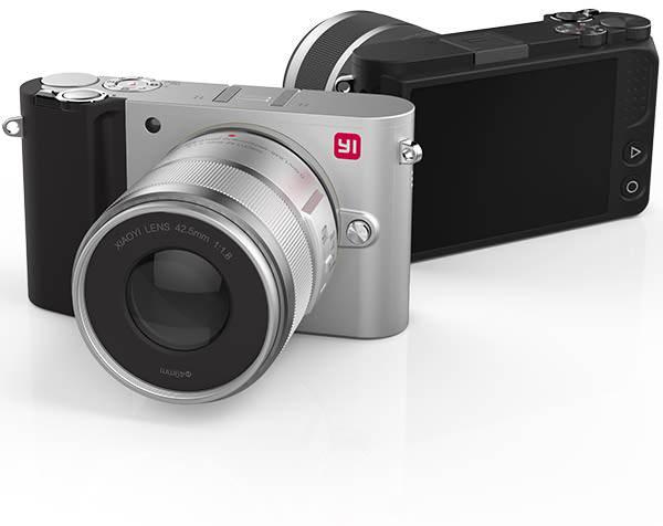 xiaomi yi m1 mirrorless camera launched at photokina 2016
