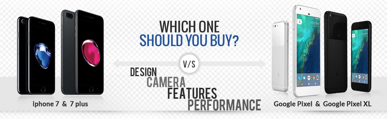 iPhone 7 vs Google Pixel- Specs Comparison