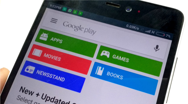 how to login google play store