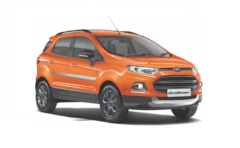 ford to unveil ecosport facelift globally on november 14 2016. Black Bedroom Furniture Sets. Home Design Ideas
