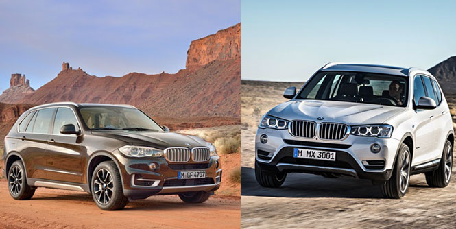 bmw india launches petrol version of x3 and x5 in india. Black Bedroom Furniture Sets. Home Design Ideas
