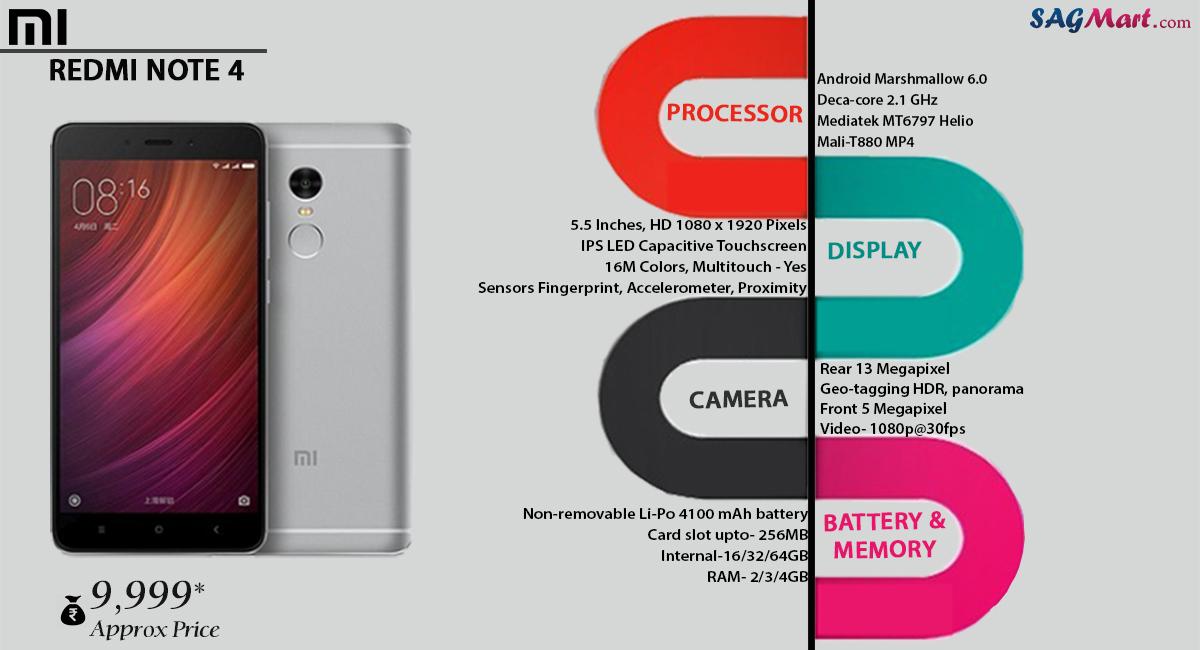Xiaomi Redmi Note 4 Full Specification: Xiaomi Redmi Note 4 Price India, Specs And Reviews