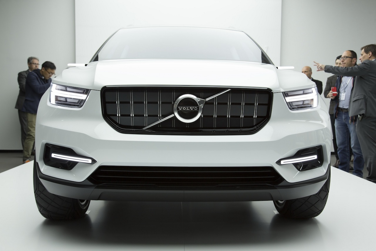 New Volvo Xc40 Expected For Global Debut At Shanghai Auto Show