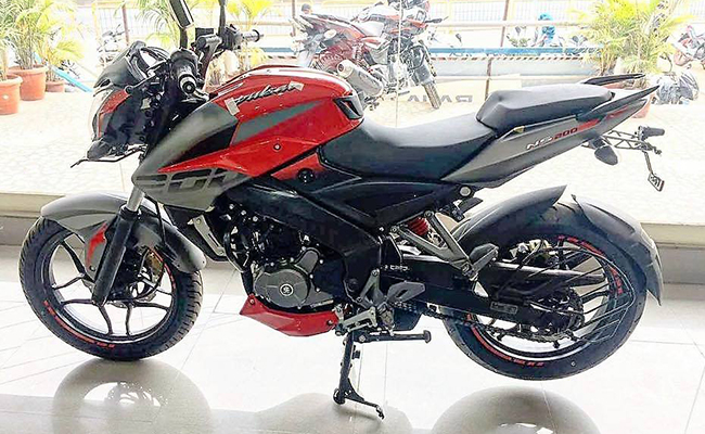 Pulsar ns 200 price in jaipur