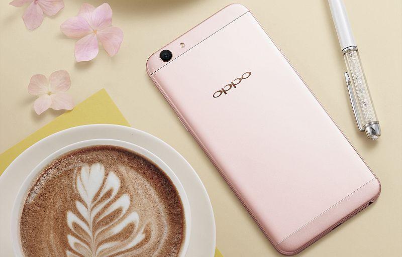 Oppo F1s Rose Gold Limited Edition On Sale via Flipkart | Oppo F1s