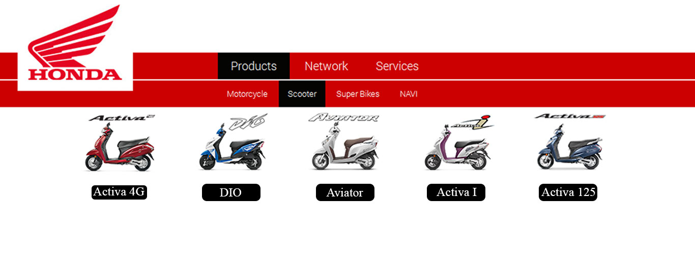 honda india removes activa 3g from its website