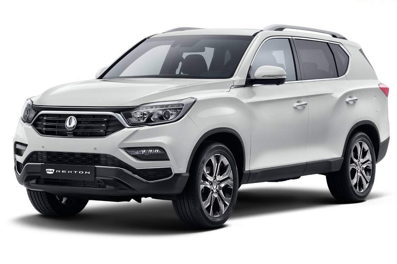 New Ssangyong Rexton Suv Mahindra Xuv700 Surfaced Online