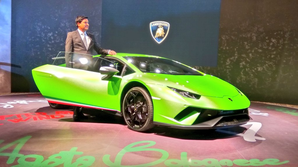 the fastest lamborghini huracan performante launched in india at inr crore. Black Bedroom Furniture Sets. Home Design Ideas