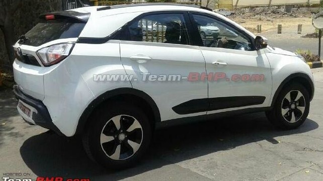Tata Nexon Spotted Testing Without Camouflage