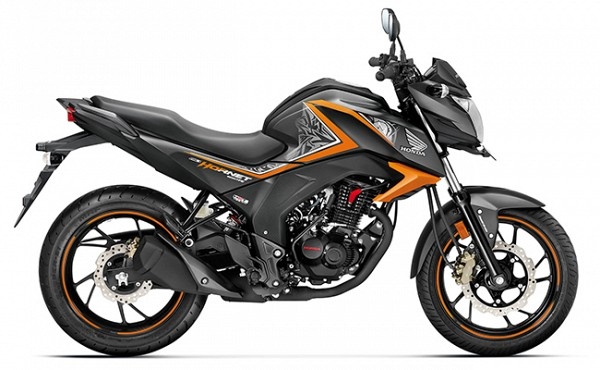 honda cb hornet 160r std price india specifications. Black Bedroom Furniture Sets. Home Design Ideas