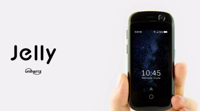 The World's Smallest 4G Smartphone, Jelly Launched With ...