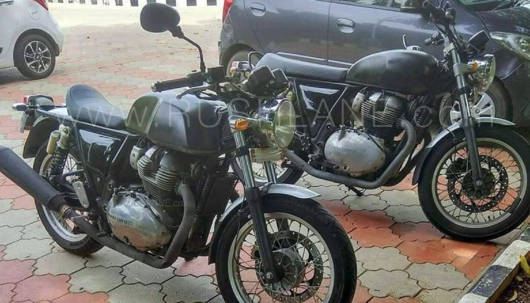 750cc royal enfield trims spotted. Black Bedroom Furniture Sets. Home Design Ideas