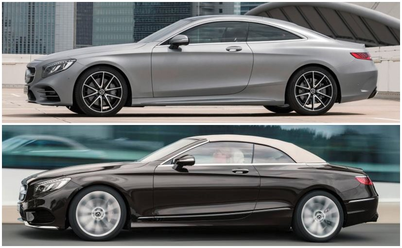 2018 Mercedes-Benz S-Class Coupe and Cabriolet Unveils Globally