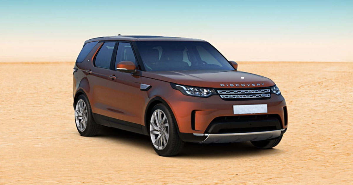 2017 land rover discovery launched in india at inr lakhs. Black Bedroom Furniture Sets. Home Design Ideas