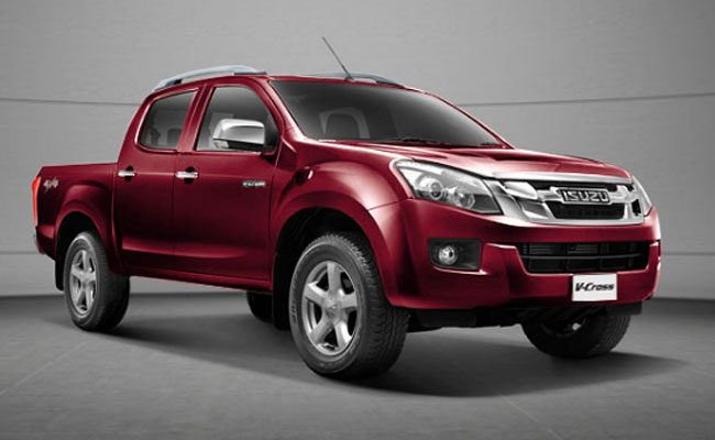 isuzu d max v cross in india features reviews. Black Bedroom Furniture Sets. Home Design Ideas