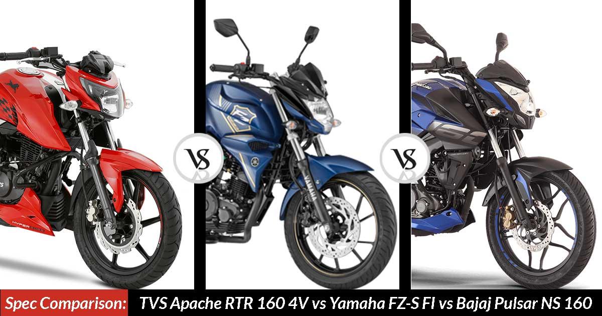 Yamaha Fz  Vs Pulsar Ns