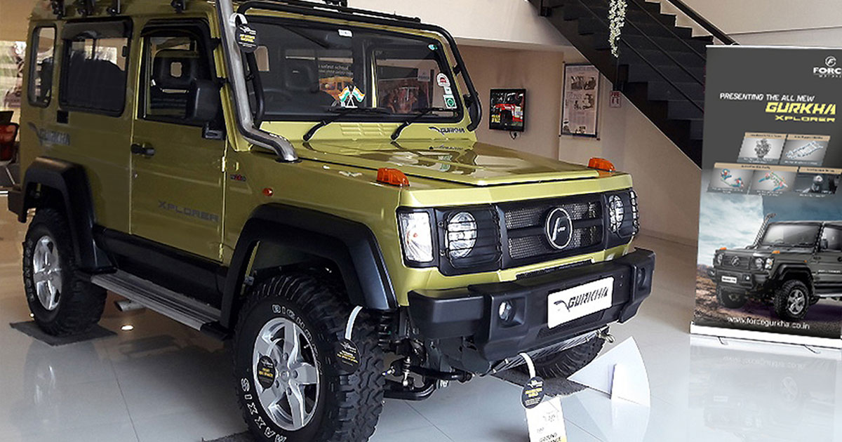 All New 140hp Force Gurkha Xtreme Brochure Leaked