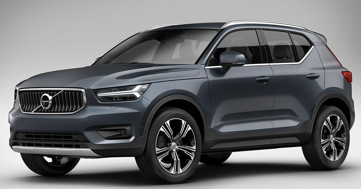 volvo xc40 inscription trim unveiled at 2018 ny auto show. Black Bedroom Furniture Sets. Home Design Ideas