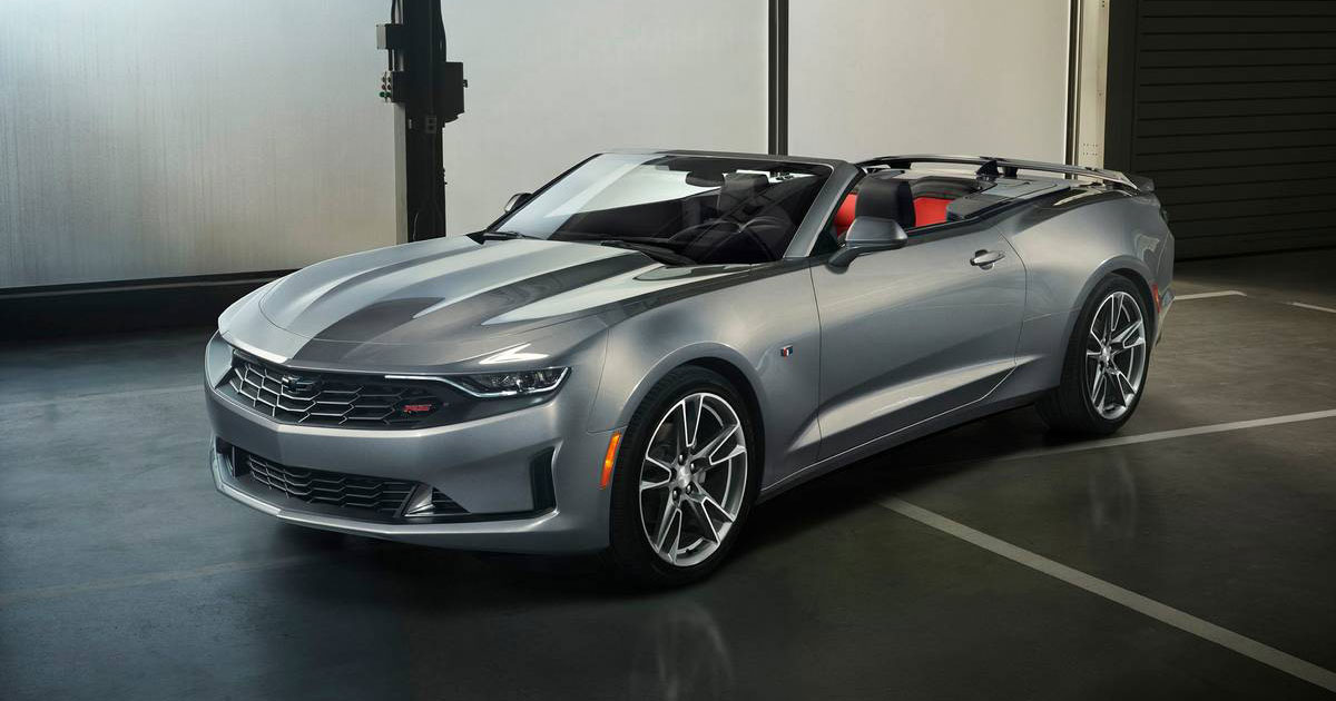 2019 Chevrolet Camaro 1le Turbo Revealed