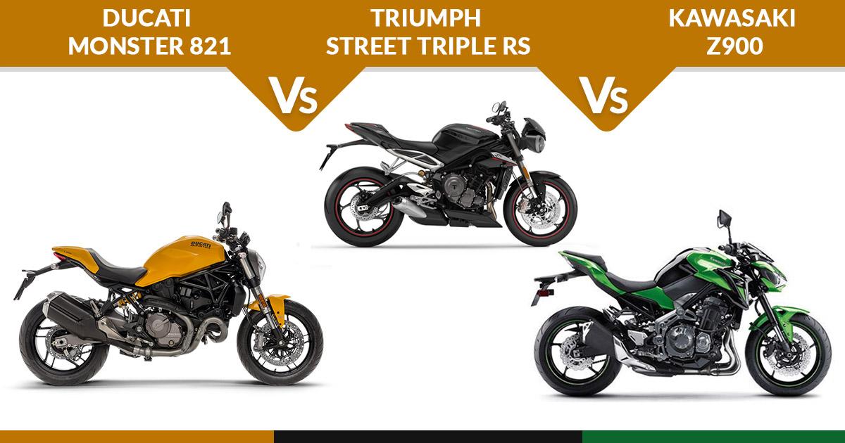 Triumph Street Triple Vs Kawasaki Z