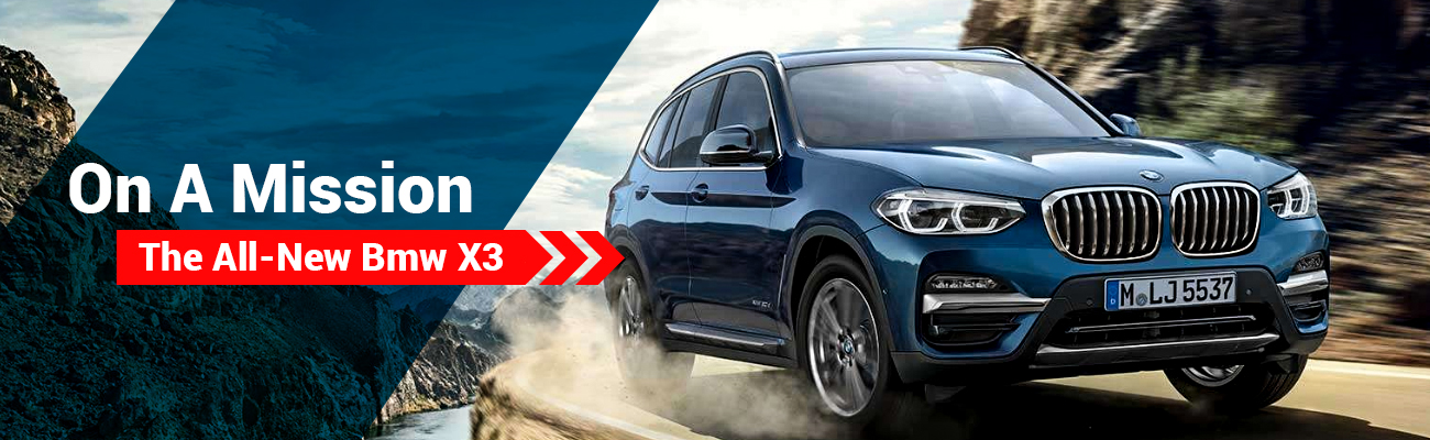 The All New BMW X3
