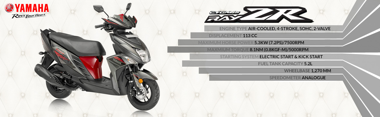 Yamaha Ray ZR Street Rally Edition