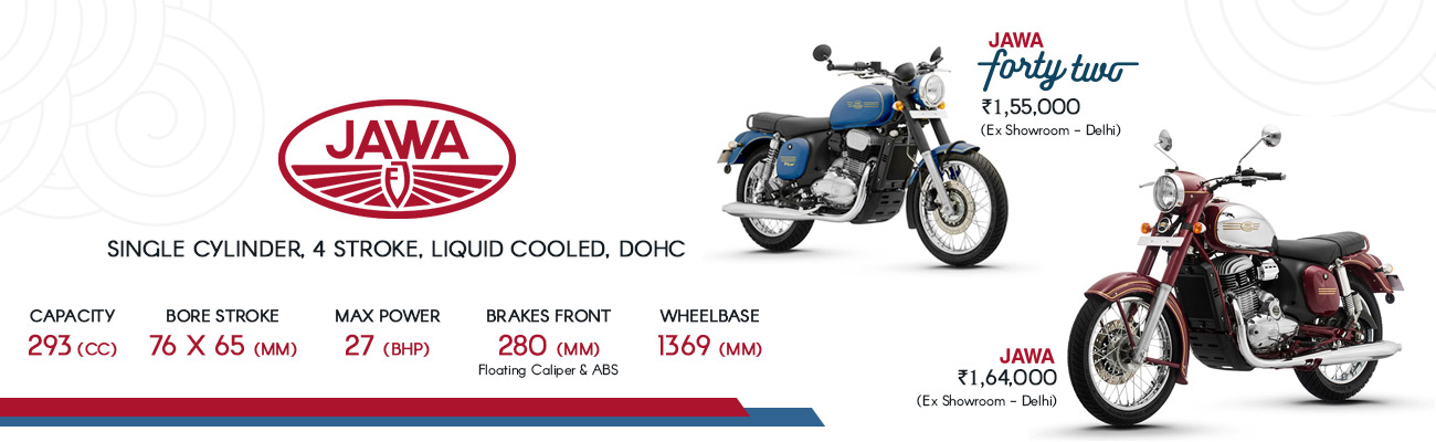 Jawa Std and Jawa Forty Two Launched in India