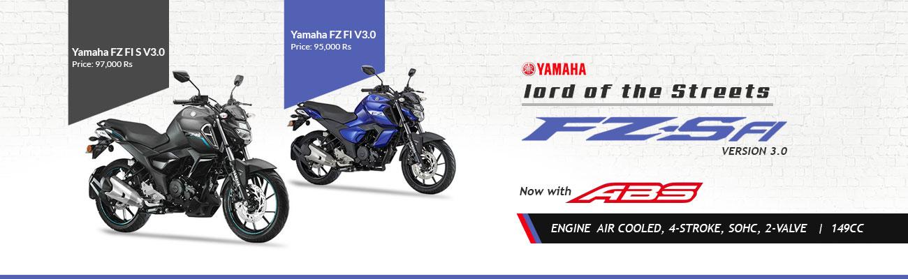 Yamaha FZ and FZ-S Version 3.0 with ABS