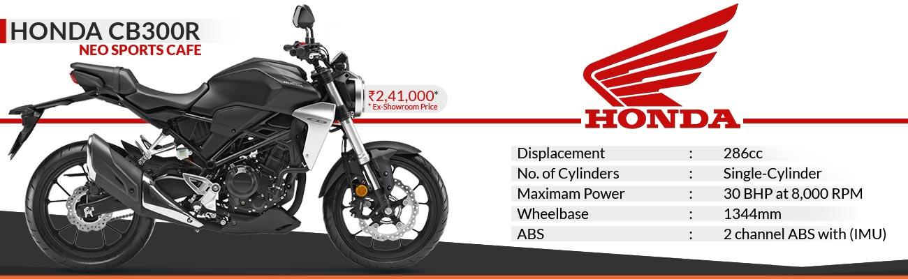 Honda CB300R Launch in India