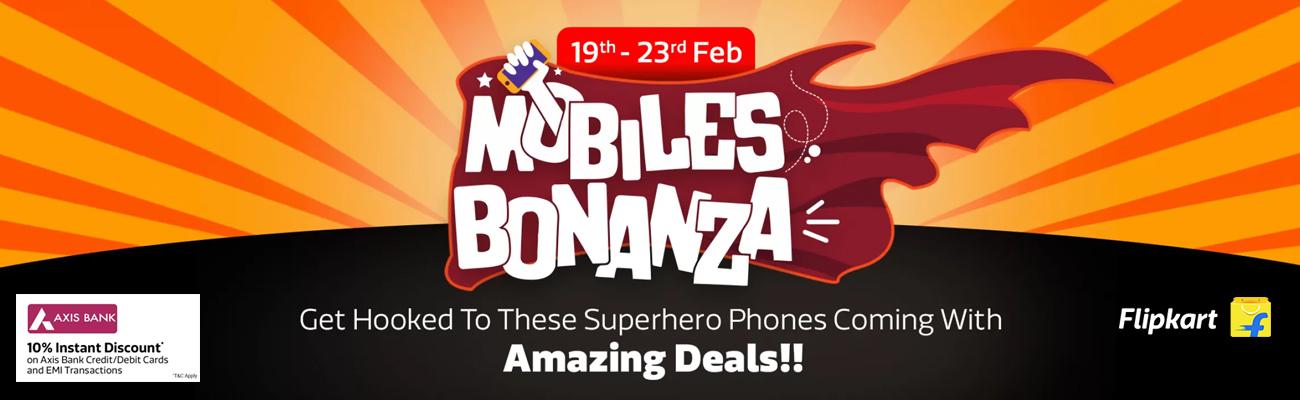 Mobile Bonanza Sale 2019 on Flipkart