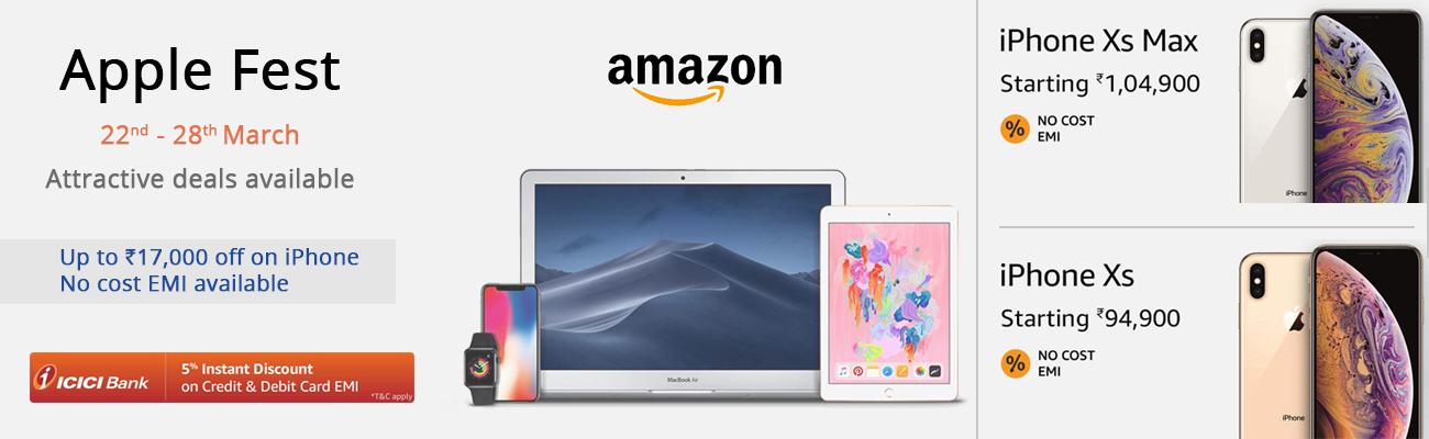 Apple Deals on Amazon