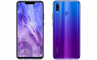 Huawei Nova 3 Front And Back pictures