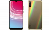 Tecno Camon i4 Front, Side and Back pictures