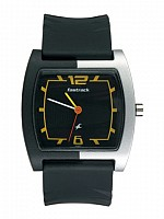 Fastrack Unisex Black Casual Watch