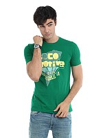 Locomotive men green t-shirt