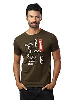 Locomotive Men Olive t-shirt