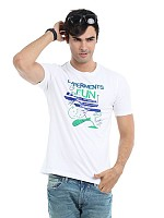 Locomotive men white t-shirt003
