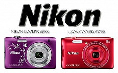 Nikon CoolPix S3700 and S2900 Compact Point and Shoots at CES 2015