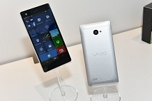 Vaio Revealed its First Windows 10 Based Smartphone-Vaio Phone Biz